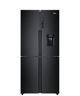 Quad Door Refrigerator Freezer, 84cm, 514L, Water