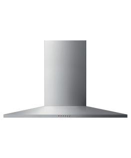 Wall Rangehood, 90cm, Pyramid Chimney
