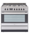 Freestanding Cooker, Gas, 90cm, 5 Burners gallery image 1.0
