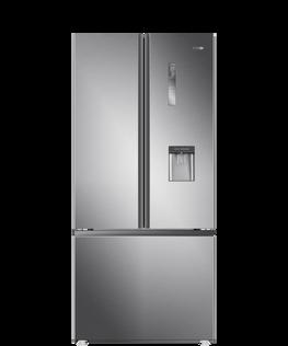 French Door Refrigerator Freezer, 79cm, 514L, Water